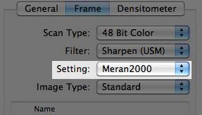 New frame name set